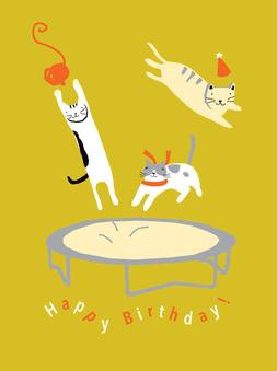 Birthday Cats Greeting Card from Great Arrow Cards