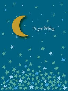 Birthday Moon Greeting Card from Great Arrow Cards