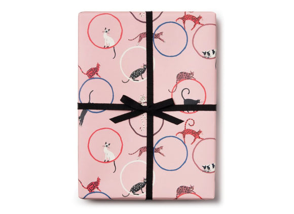 Cat Ring Wrapping Paper by Red Cap Cards