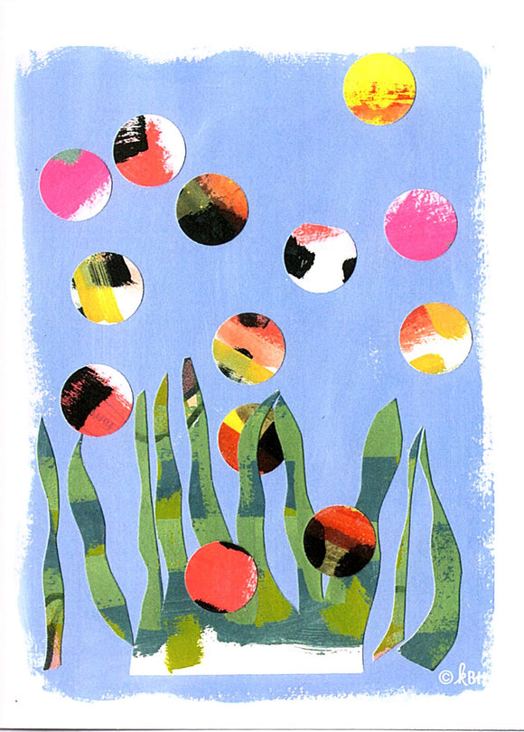 Aquatic Fun Card by Kate Brennan Hall