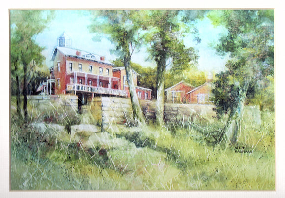 Stillman Manor Reproduction by Alda Kaufman