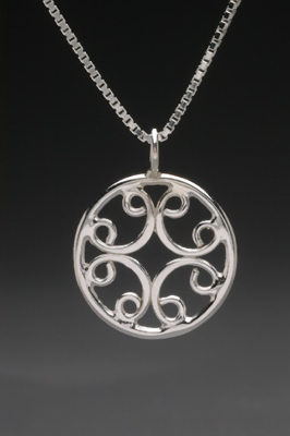 Celtic Necklace by Thomas Kuhner