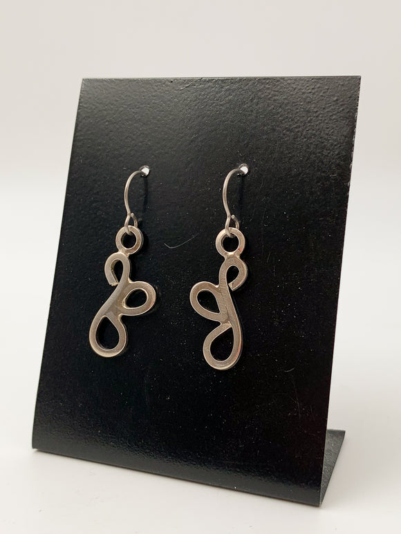 Scroll Earrings by Lisa Williams