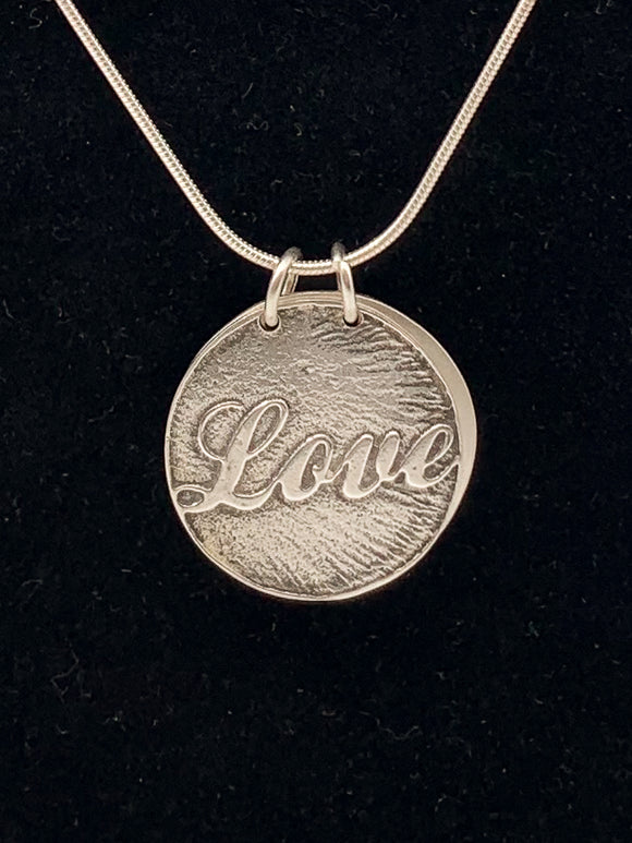 Love Word-Book Necklace by Lisa Williams