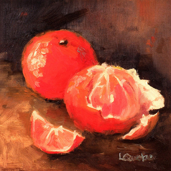 Oranges Reproduction by Liz Quebe