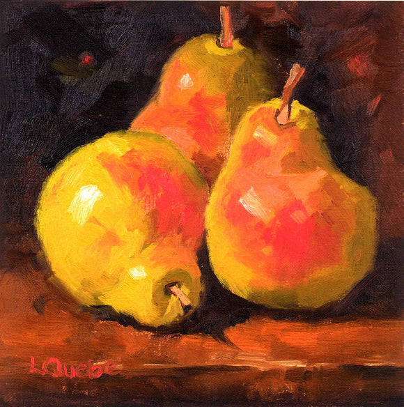 Pears Reproduction by Liz Quebe
