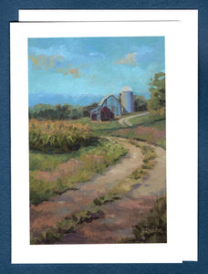 The Way Home Greeting Card by Liz Quebe