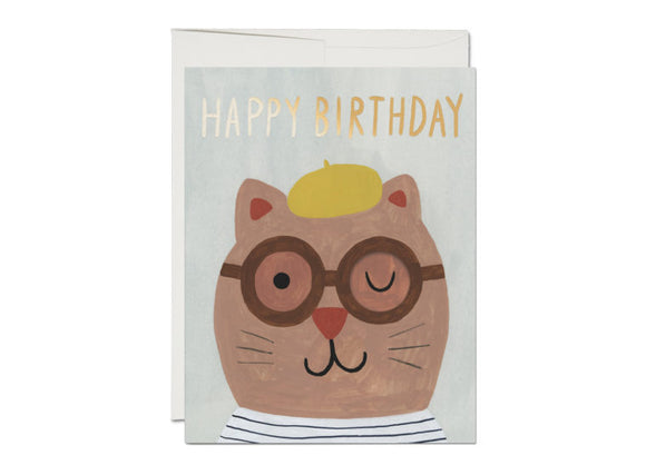 Lots of Cats Birthday Greeting Card from Red Cap Cards