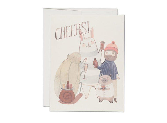 Beers Cheers Greeting Card from Red Cap Cards