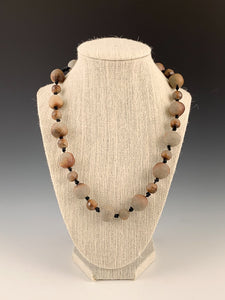 Knots & Beads Necklace by Tabitha Link