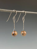 Titanium Bead-Drop Earrings by Tabitha Link