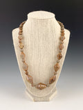 Cones & Beads Necklace by Tabitha Link