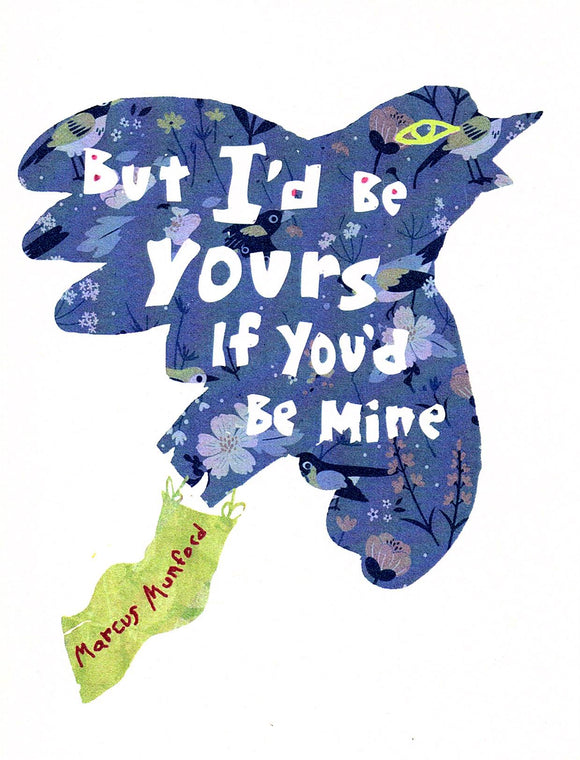 Be Mine Greeting Card by Jake Putnam