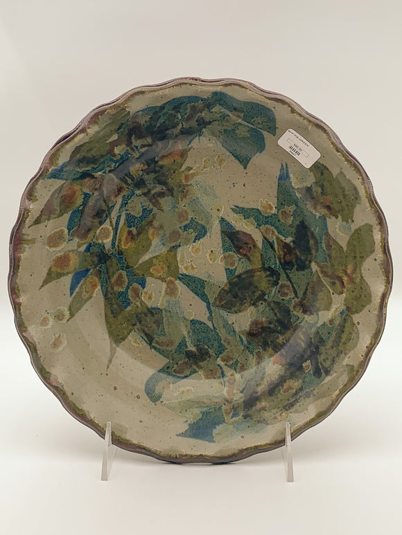 Pie Dish by Butterfield Pottery