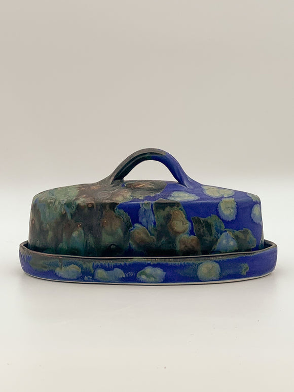Butter Dish by Butterfield Pottery