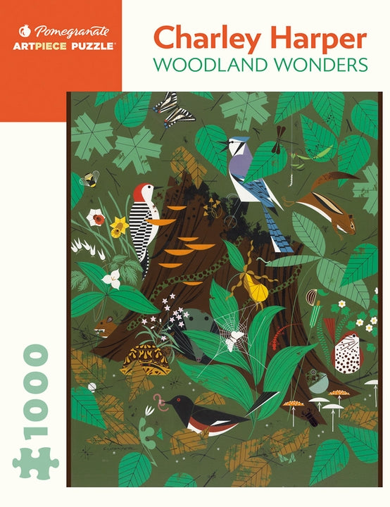 Charley Harper: The Woodland Wonders Puzzle