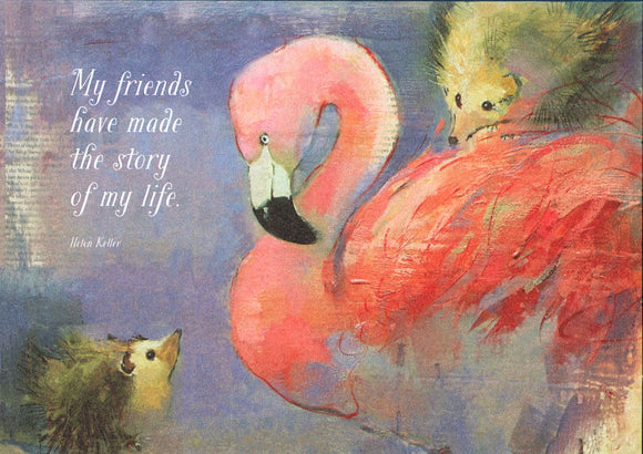 Croquet Friendship Card from Artists to Watch