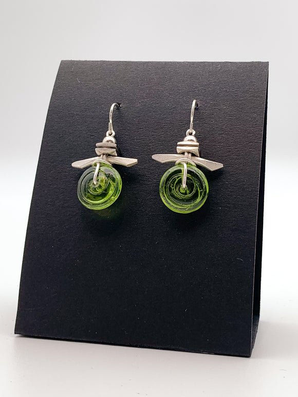 Seaspray Earrings by Erika Sturm
