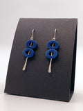 Two Ovals Earrings by Erika Sturm