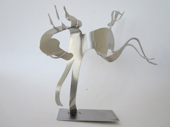Buckin' Sculpture by Gail Chavenelle