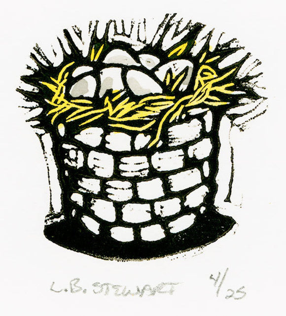 Eggs in a Basket by Lori Biwer-Stewart