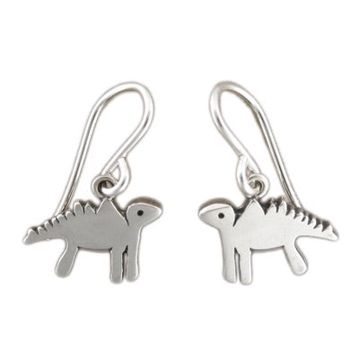 Little Dinosaur Earrings by Mark Poulin