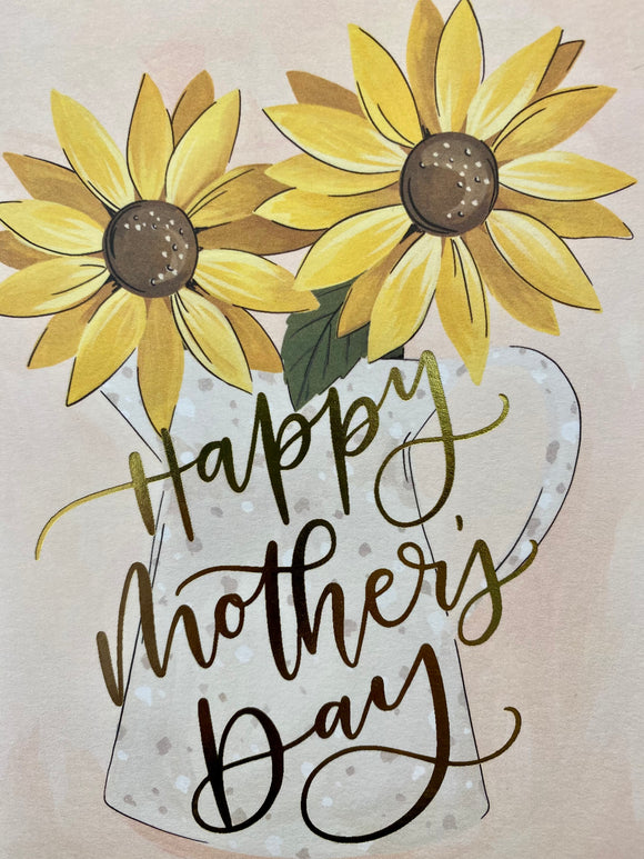 Mother's Day Sunflowers Card by 1canoe2