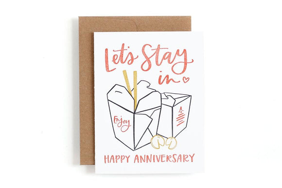 Anniversary Take Out Card by 1canoe2