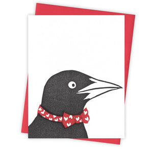 Heartstrings Grackle Card