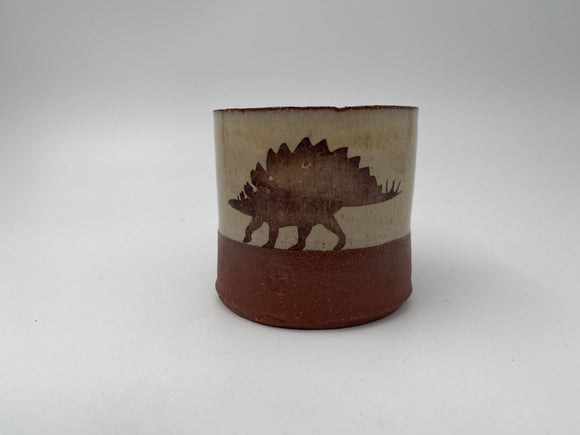 Stegosaurus Cup by Keith Hershberger