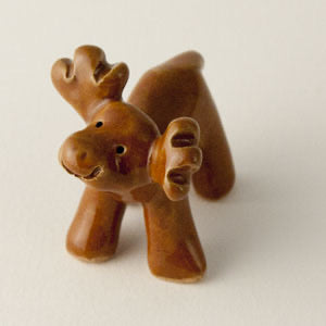 "Moose Ceramic ""Little Guy"" by Cindy Pacileo"