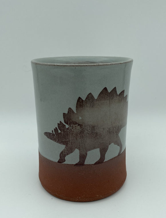 Stegosaurus Mug by Keith Hershberger