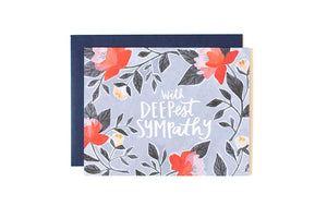 Deepest Sympathy Card by 1canoe2