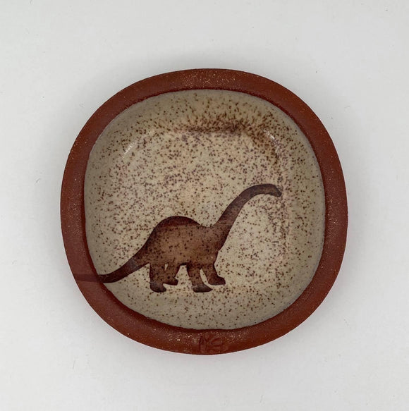 Diplodocus Small Plate #1 by Keith Hershberger