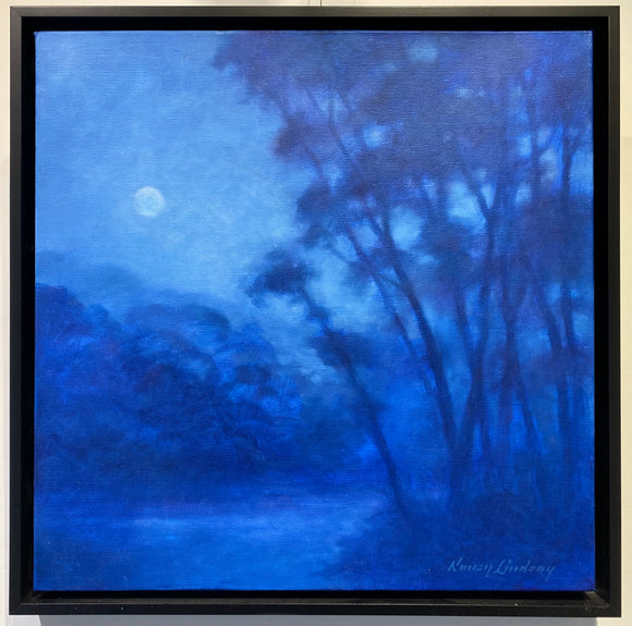 Moonlight on Willow Creek by Nancy Lindsay