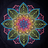 Embroidered Mandala by Abby Schrup