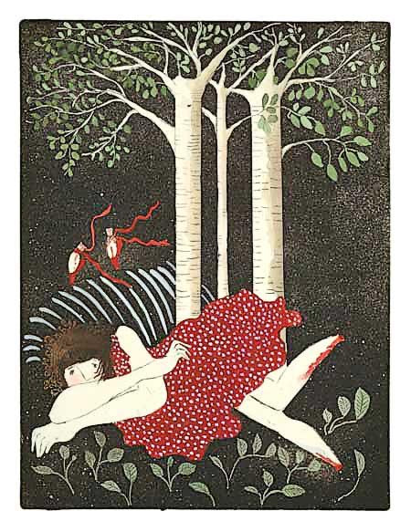 They Gaily Danced Away giclee reproduction by Beth Bird