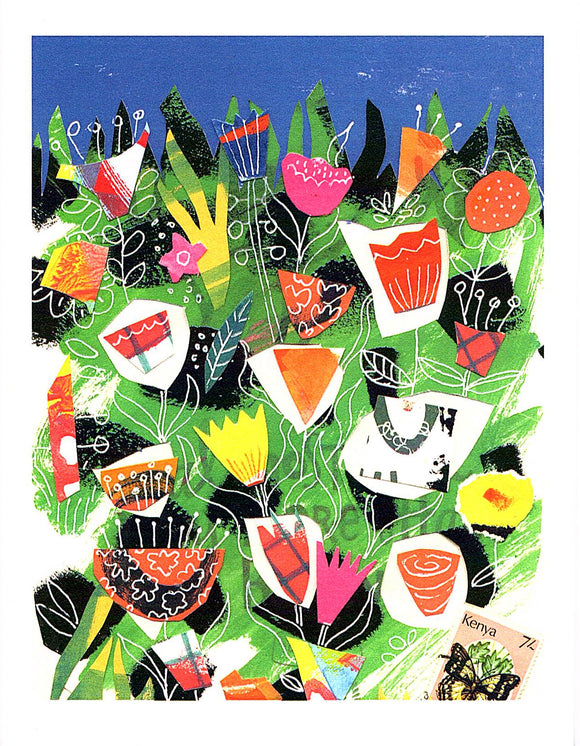 Garden Series I Card by Kate Brennan Hall