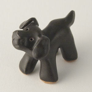 "Black Lab Ceramic ""Little Guy"" by Cindy Pacileo"