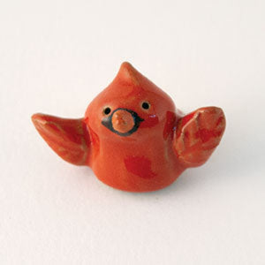 "Cardinal Ceramic ""Little Guy"" by Cindy Pacileo"