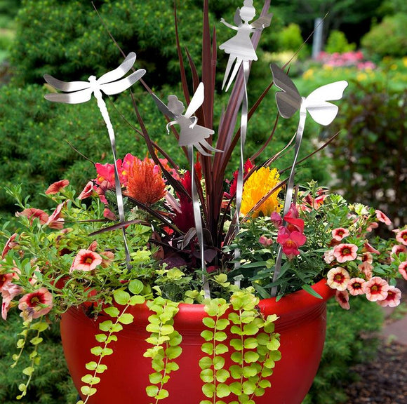Flutter Garden Picks by Metal Petal Art