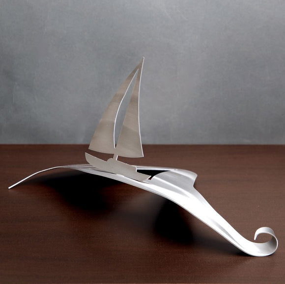 Sail Wave by Metal Petal Art