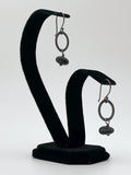 Flat Ring Earrings by Jennifer Nunnelee