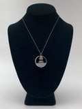Domed Stack Necklace by Jennifer Nunnelee