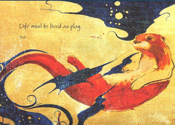 Otter at Play Card from Artists to Watch