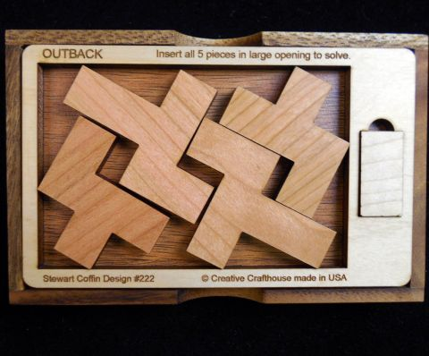 Outback Puzzle by Creative Crafthouse