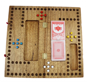 Pegs and Jokers Game by Creative Crafthouse