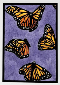 Monarchs Greeting Card by Sarah Angst