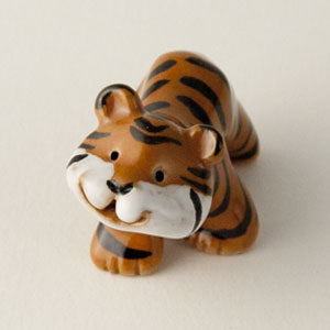 "Tiger Ceramic ""Little Guy"" by Cindy Pacileo"