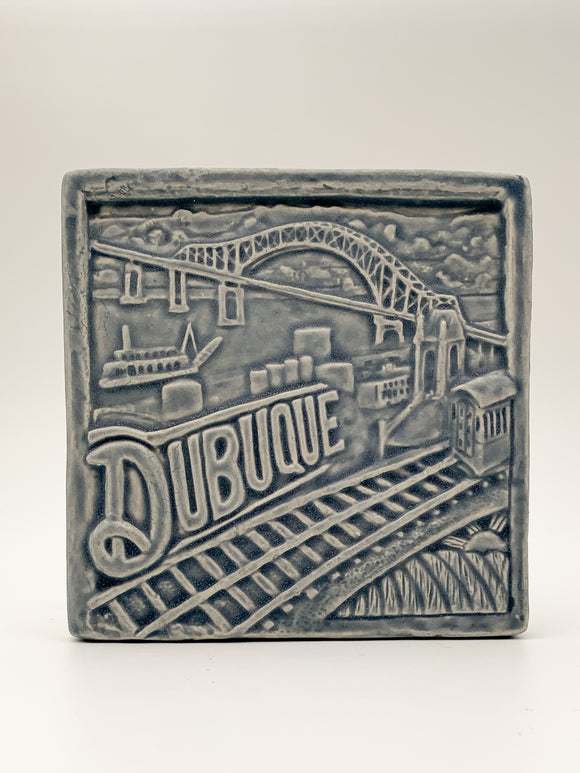 6x6 Dubuque Tile by Whistling Frog
